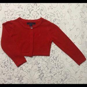 Nautica red sweater